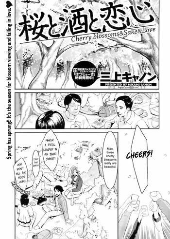 Cherry Blossoms & Sake & Love